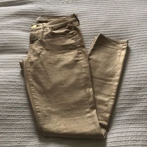 Gold 7 For All Mankind Jeans